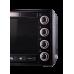 Електродуховка LEO-650 Black Mirror