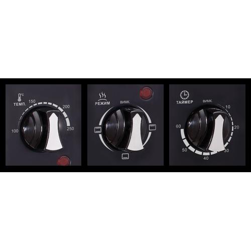 Електродуховка LEO-350 Black